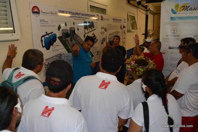 Ce procédé est en phase de test à Bora Bora depuis bientôt un an.