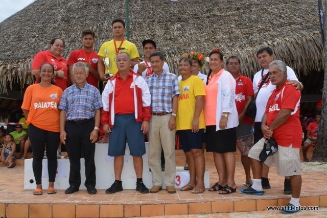 Jeux des Raromatai : les premières médailles distribuées
