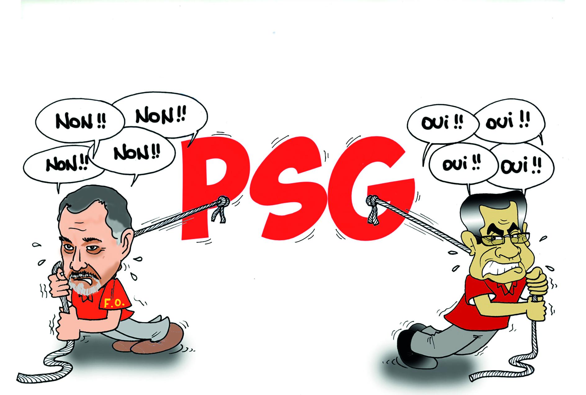 """"""" La PSG """" vu par Munoz"""