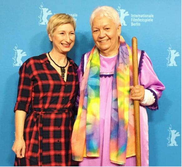 Annick Ghijzelings et Flora Devatine - crédit Berlinale 2018 - Alexander Klebe.