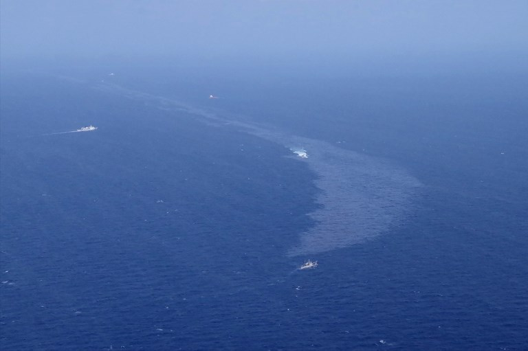 Le Japon confirme que le pétrole échoué sur ses plages provient certainement du Sanchi