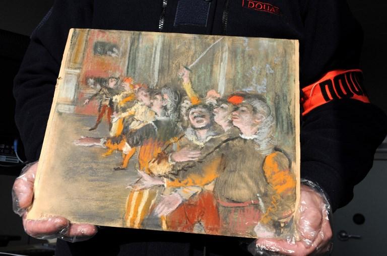 Un tableau de Degas volé en 2009 retrouvé en Seine-et-Marne