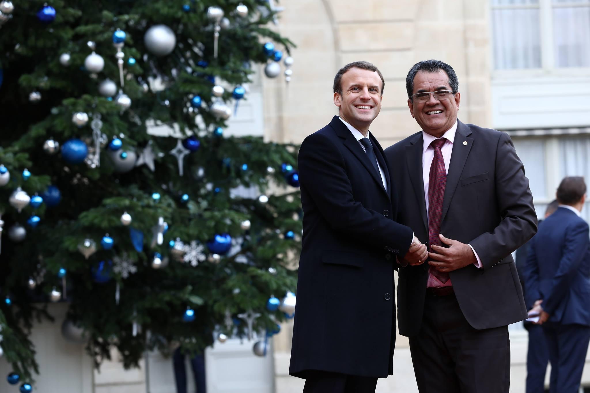 Territoriales : Edouard Fritch soutenu par le parti d'Emmanuel Macron