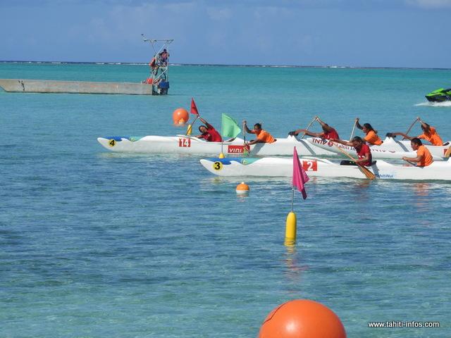 Chez les femmes, les équipes de Bora Bora et Raiatea ont uni leurs efforts pour ces sélectives.