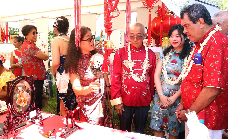 Nouvel an chinois : Une journée de fête au temple Kanti