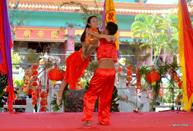 Un duo de danseurs qui a enchanté le public