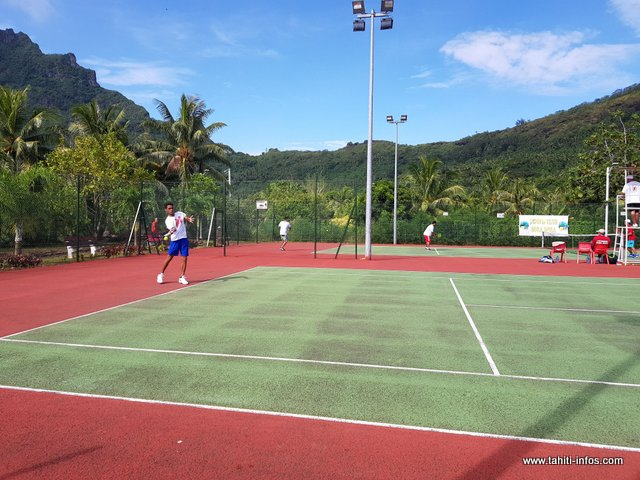 Si Tahiti et Moorea choisiront le tennis pour leurs sélectives, eh bien cette discipline sera retenue pour les grands jeux de Tahiti Nui, en décembre.