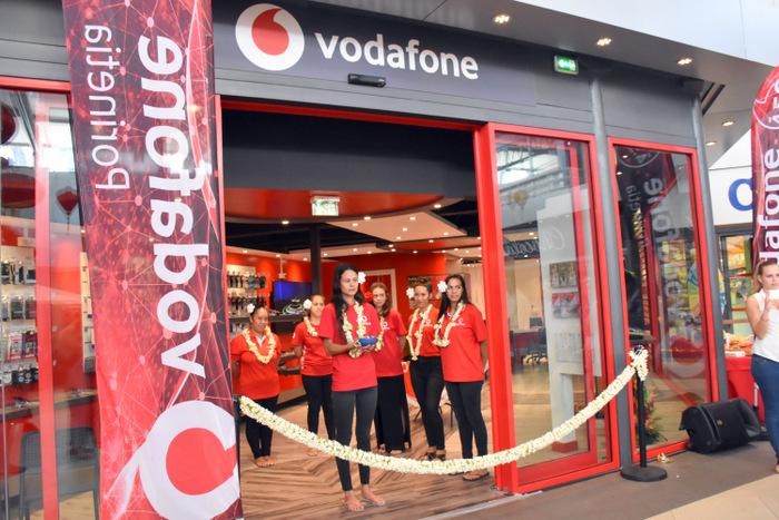 Une nouvelle boutique Vodafone à Carrefour Punaauia