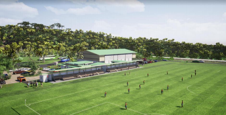Complexe sportif de Hitia'a : onze mois de travaux