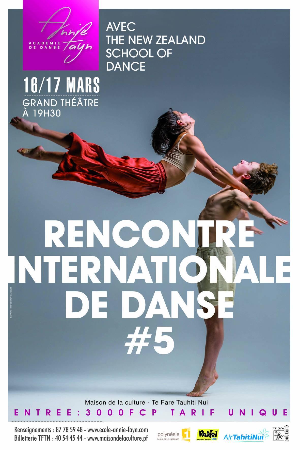 Les 5e Rencontres internationales de danse se préparent