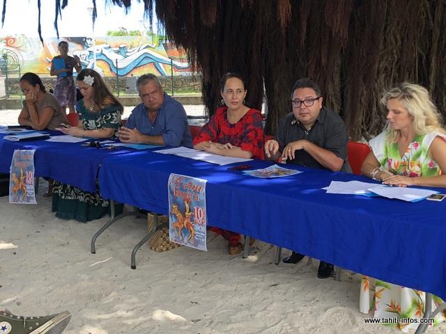 Les ministres de la Culture et de l'Education ont présenté ce mardi, la 1ère édition du Heiva Taure'a qui se tiendra le 10 mars à To'ata.