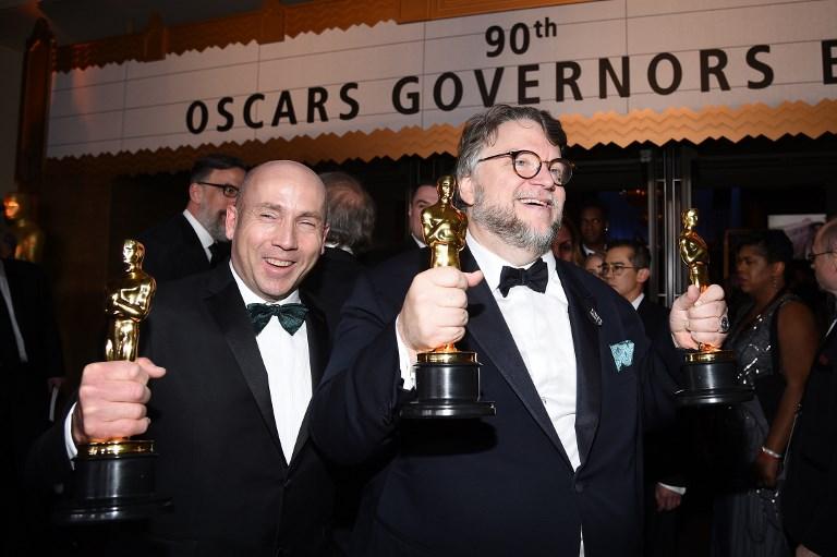 """""""La Forme de l'eau"""" triomphe lors d'Oscars appelant à l'inclusion"""