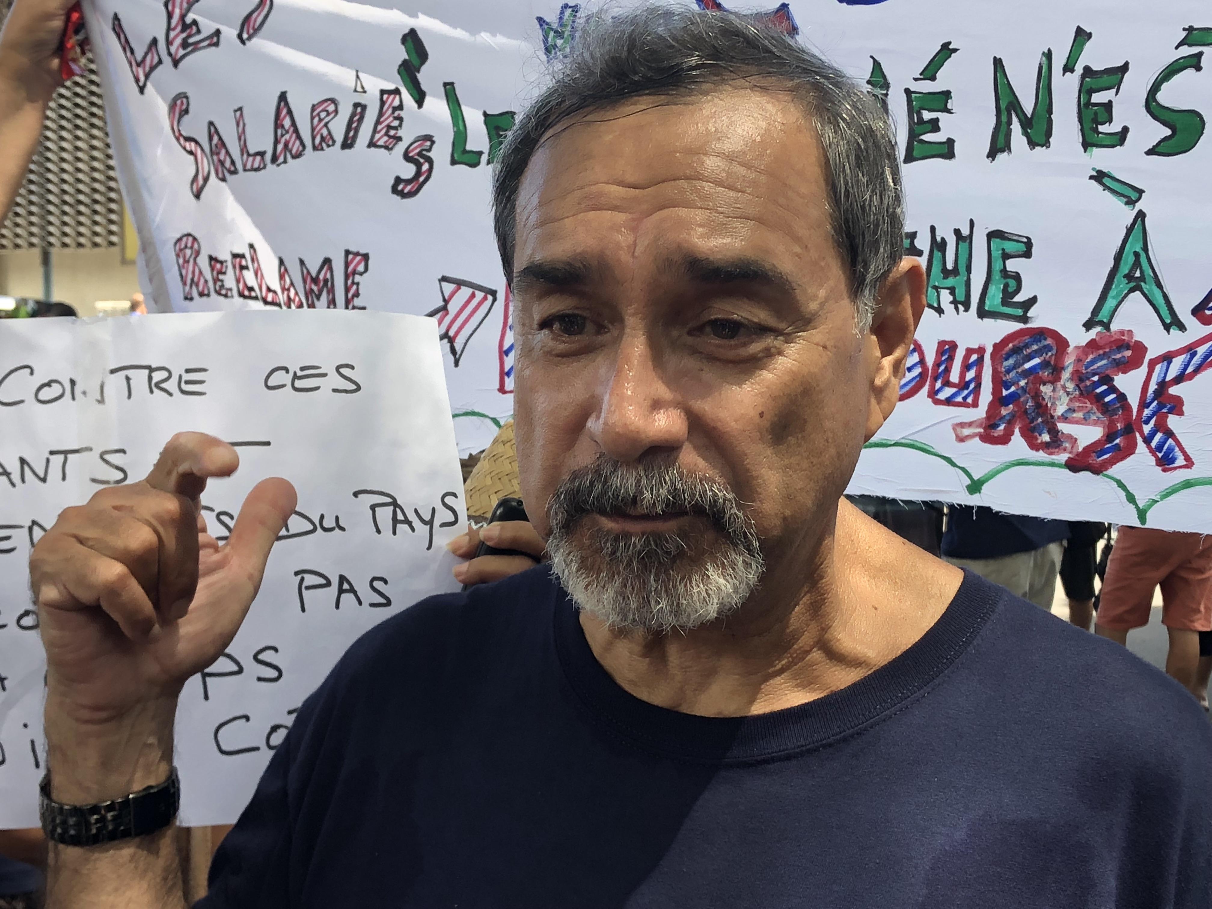 """Angelo Frébault : """"Il y aura un blocage économique pour toute la Polynésie française"""""""