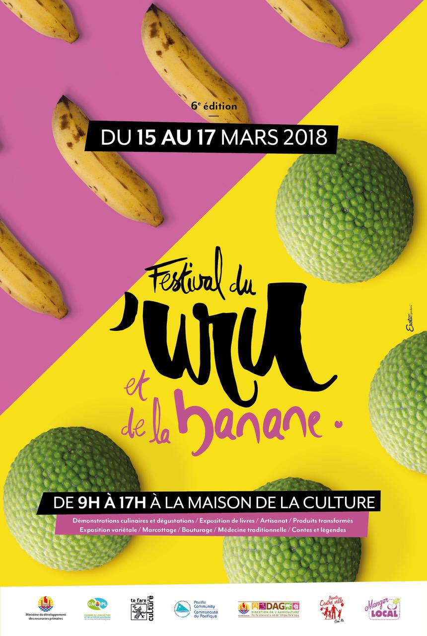 Le festival du 'uru et de la banane commence jeudi