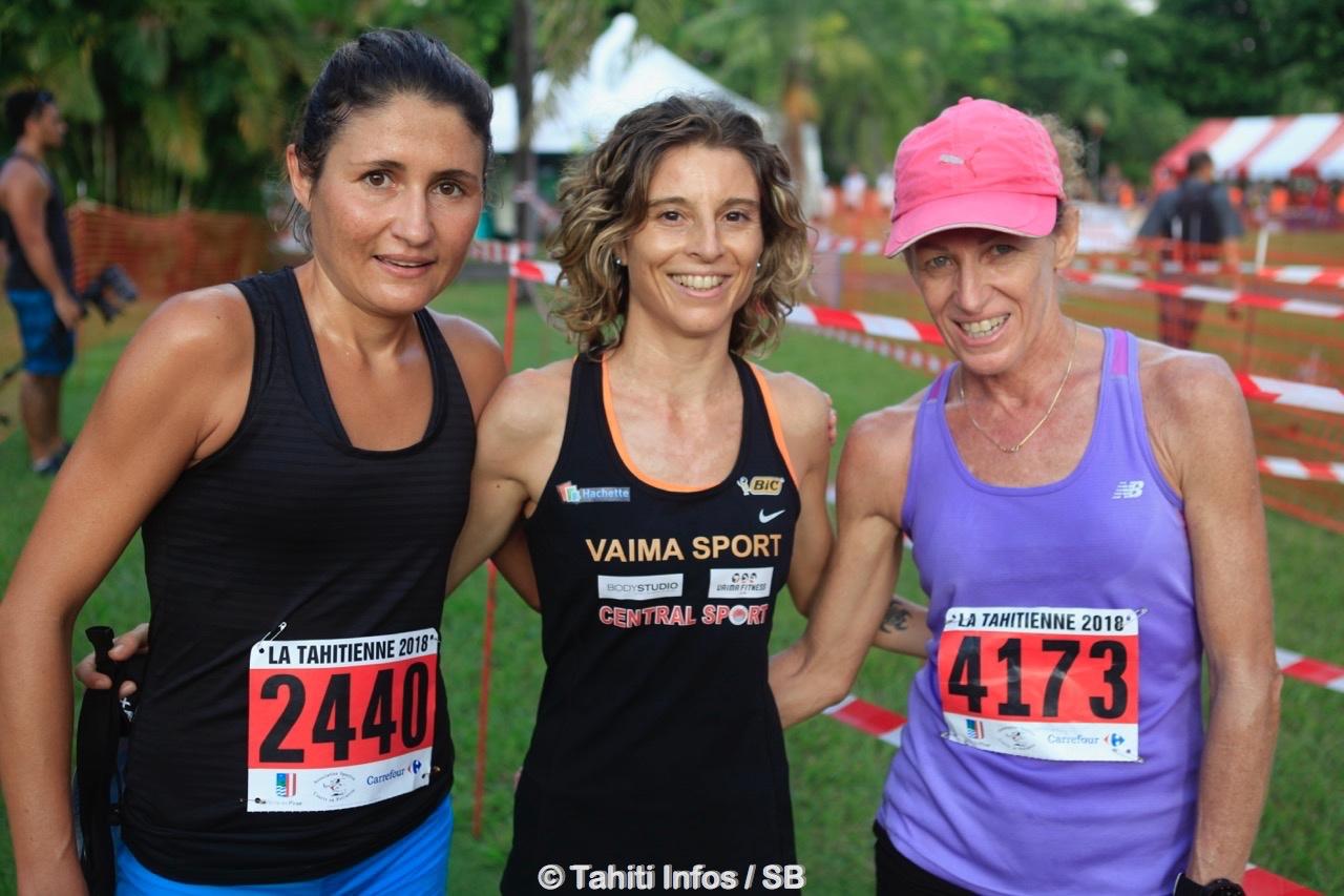 Gwennaëlle Rauby, Sophie Bouchonnet et Sophie Gardon