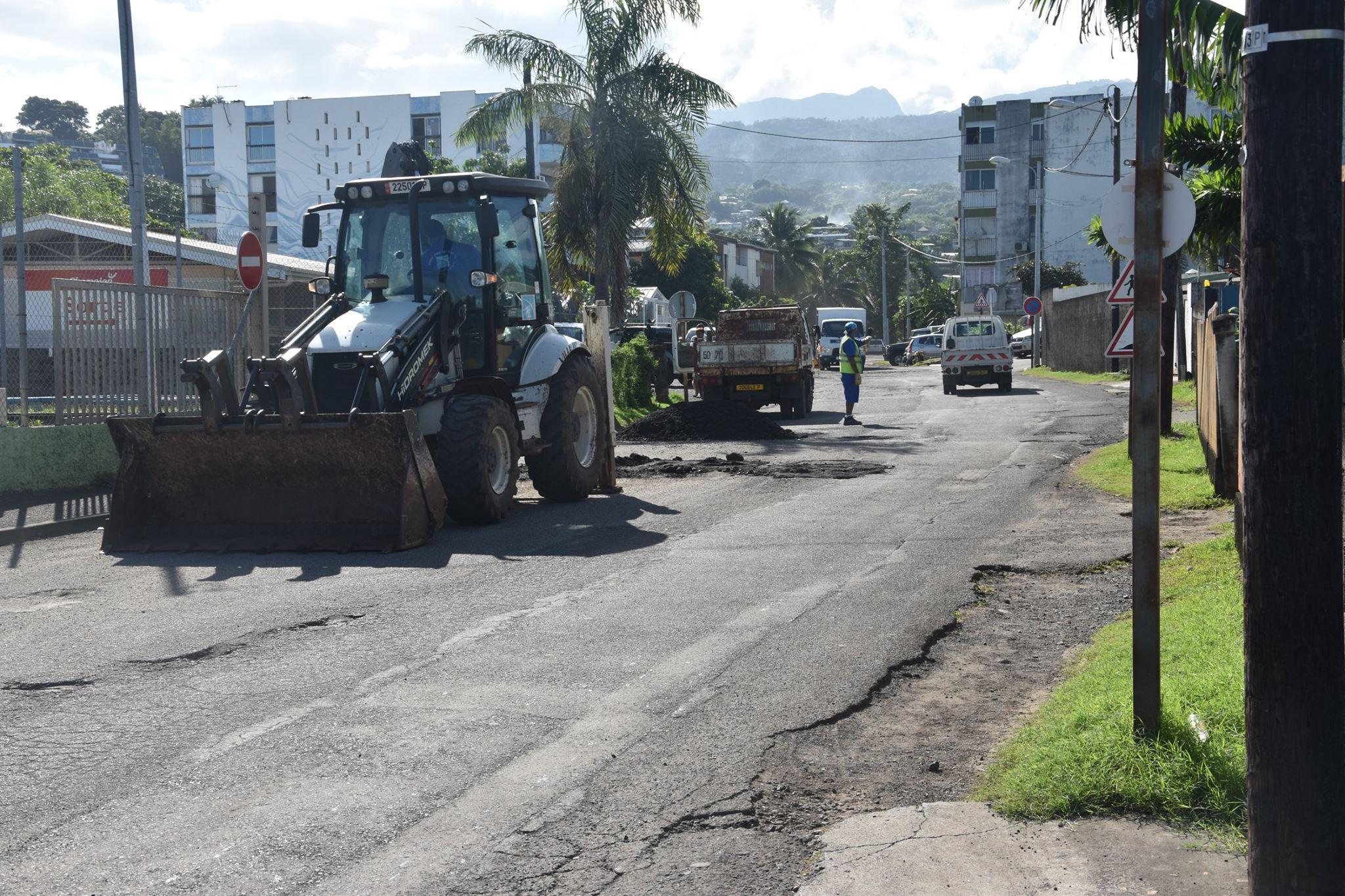 Le Pays s'engage à faire des travaux sur la route de Heiri