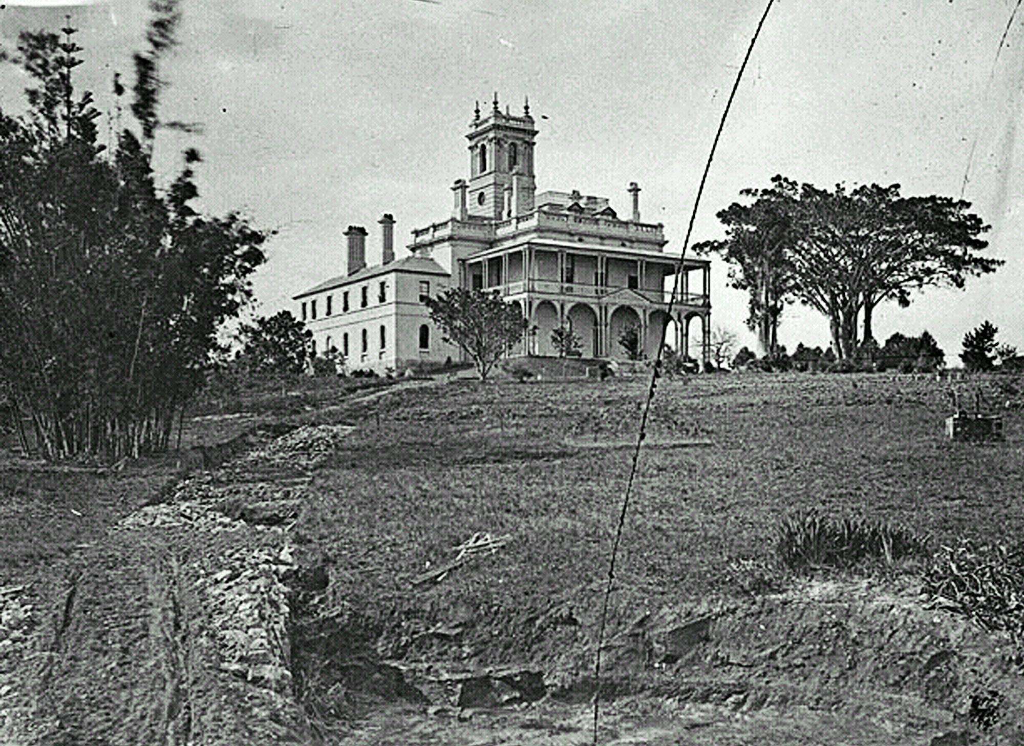 The Towers, la somptueuse demeure que se fit bâtir Bernhardt Otto Holterman non loin de Sydney, après avoir fait fortune dans la prospection aurifère.