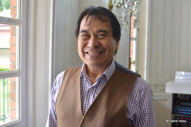 Manuel Terai, délégué aux affaires internationales, européennes et du Pacifique pour la Polynésie française