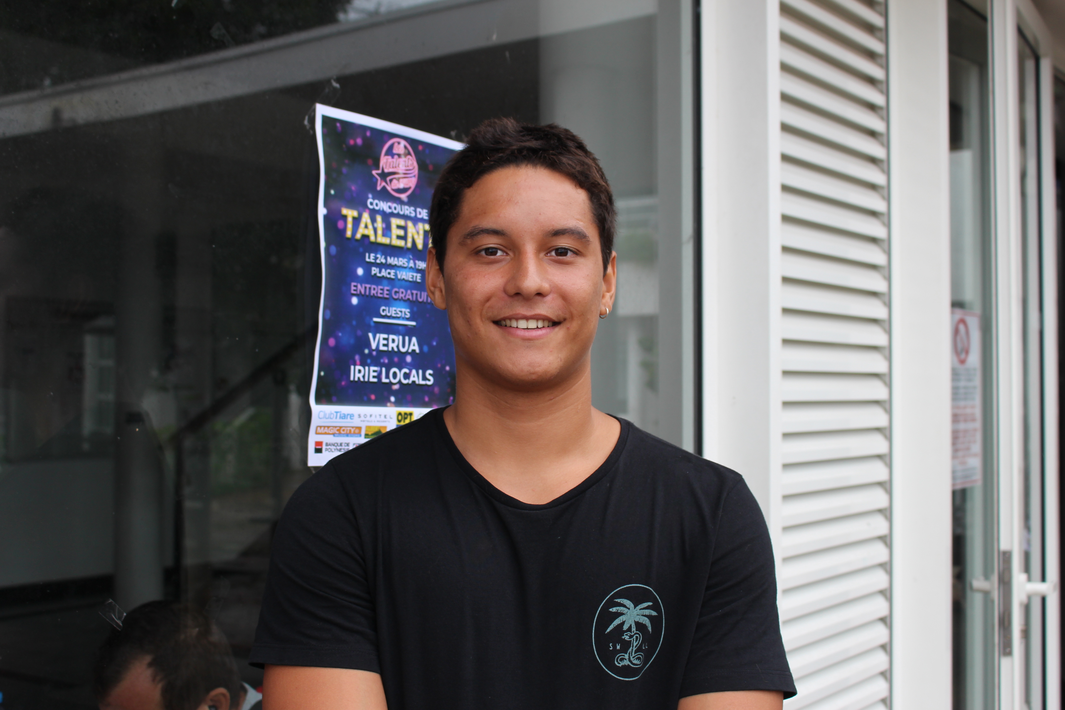 Alfred Yamatay, co-organisateur de Talents de l'UPF.