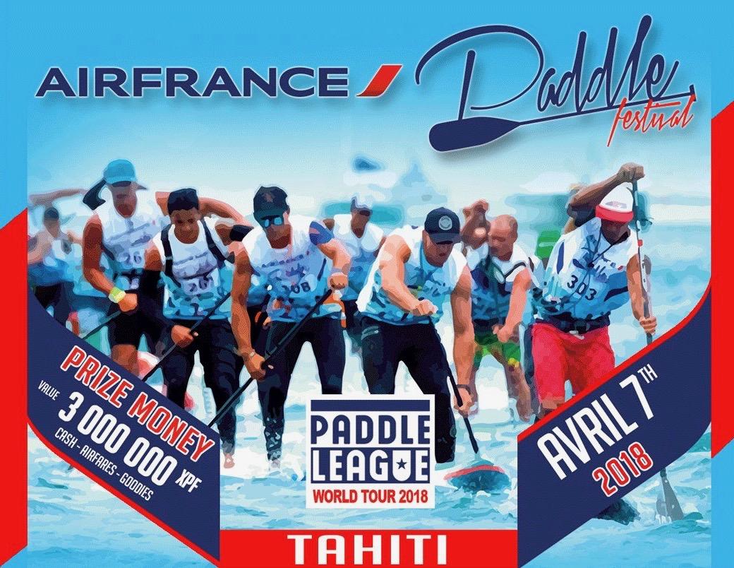 Sup Race - 5e Air France Paddle : Nos locaux confrontés aux meilleurs mondiaux