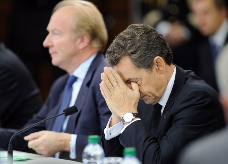 Soupçons de financement libyen: Nicolas Sarkozy placé en garde à vue