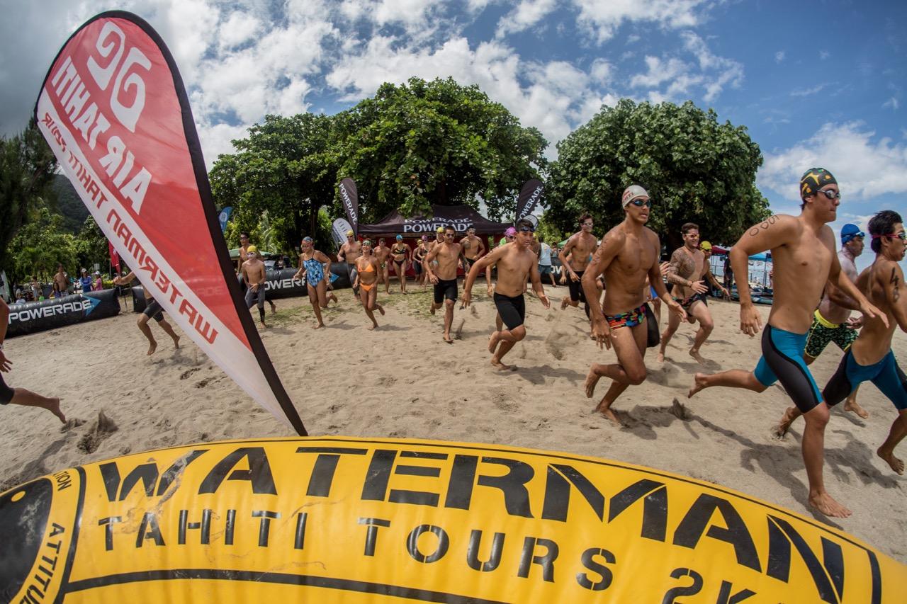 C'est parti pour le Waterman Tahiti Tour 2018 © Jérôme Brouillet