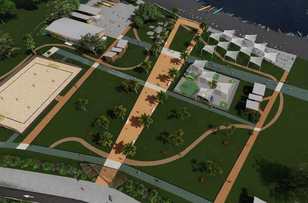 Le Parc Aorai Tini Hau sera livré en deux temps