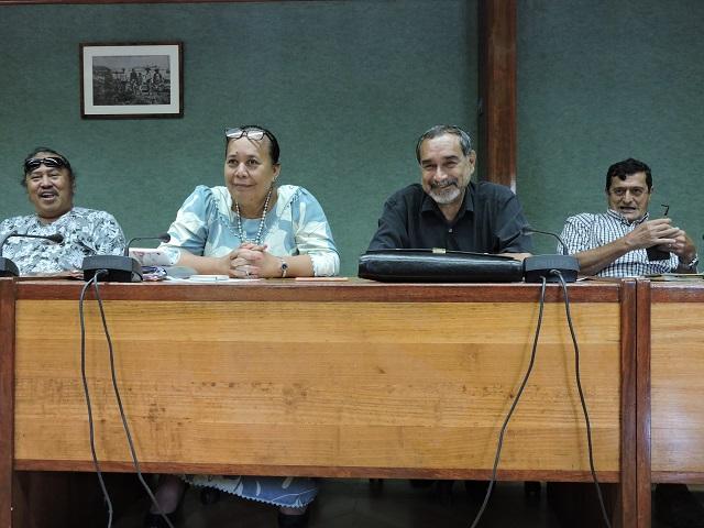"""L'intersyndicale a appelé ce mardi à un """"vote sanction"""" contre le Tapura pour les prochaines élections."""