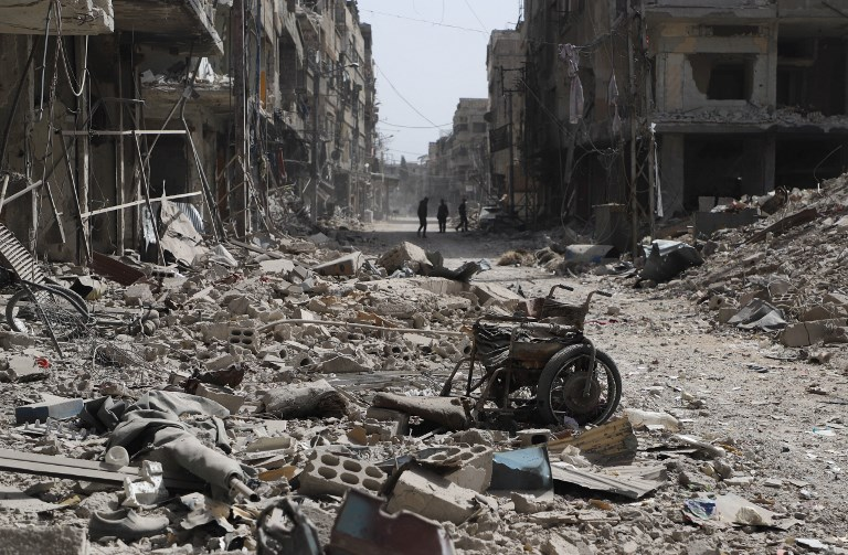Syrie: frappes meurtrières sur la Ghouta pour forcer les rebelles à évacuer