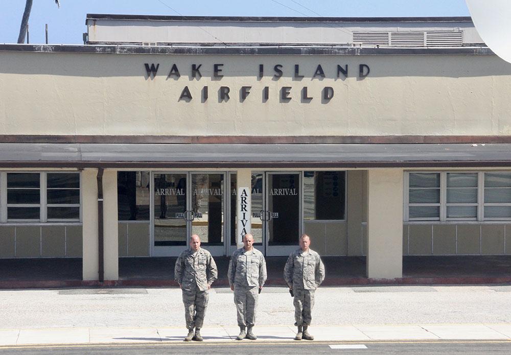 Wake, un avant-poste militaire crucial isolé dans le Pacifique