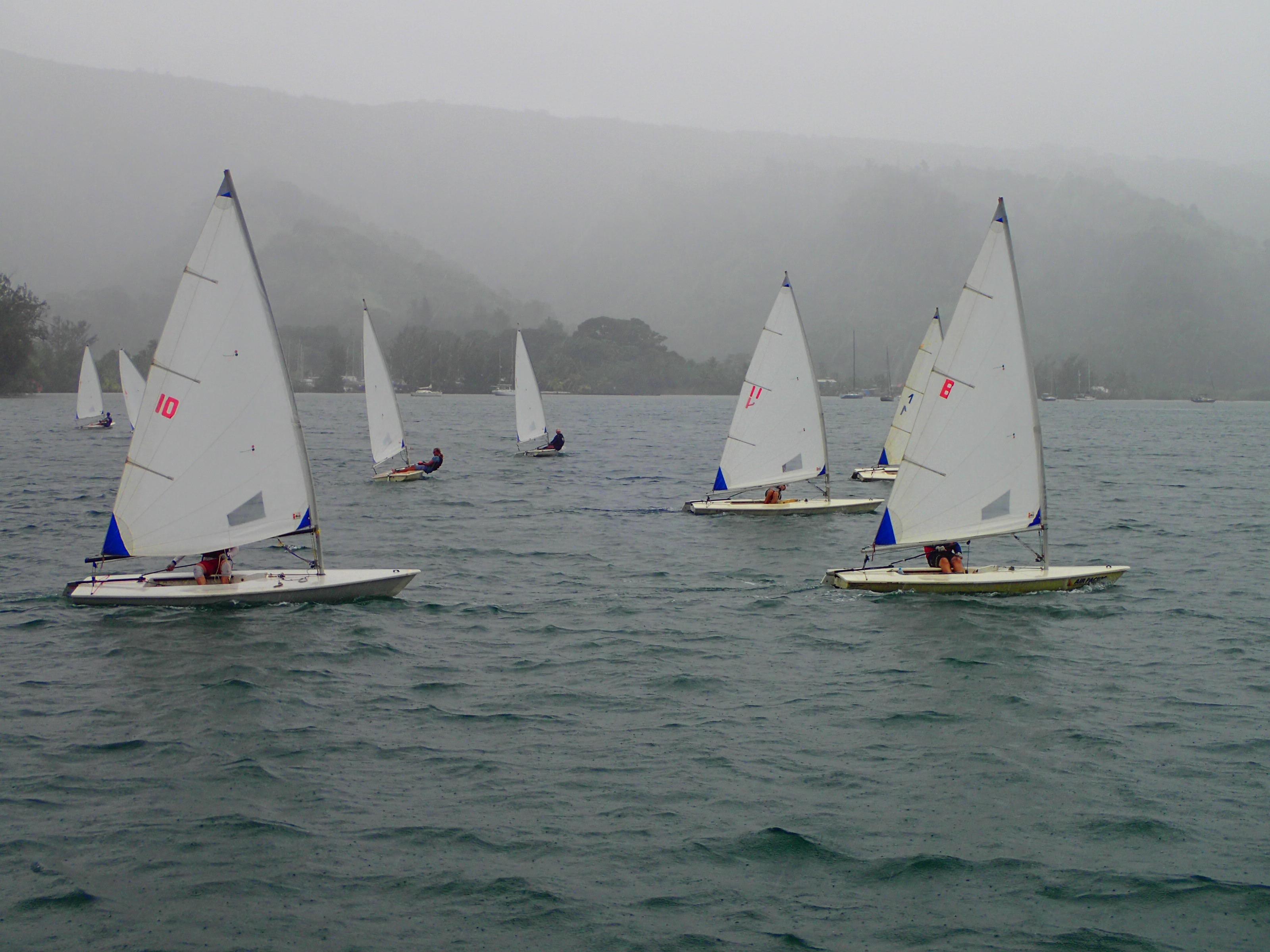 Les Jeux du Pacifique se préparent sur l'eau
