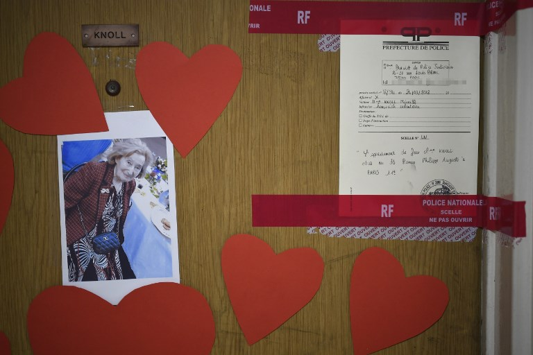 Octogénaire tuée: deux suspects mis en examen pour homicide à caractère antisémite