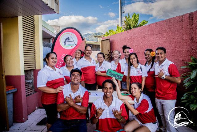 L'objectif du programme des volontaires est également de créer des liens et avoir une vraie cohésion de groupe lors des Championnats.