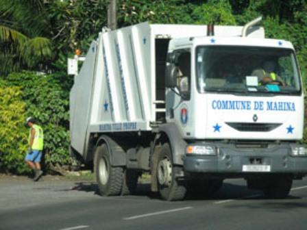 Mahina : la collecte des déchets verts et encombrants sera perturbée