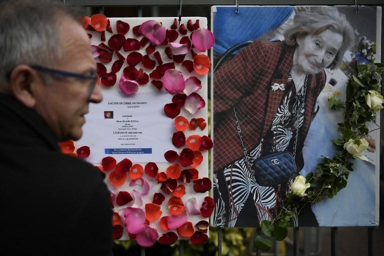 Marche blanche contre l'antisémitisme, en mémoire de Mireille Knoll