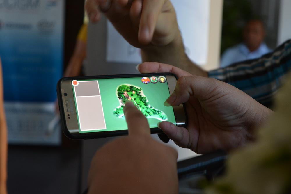 AR Marae une application en réalité augmentée pour le Marae 'Arahurahu