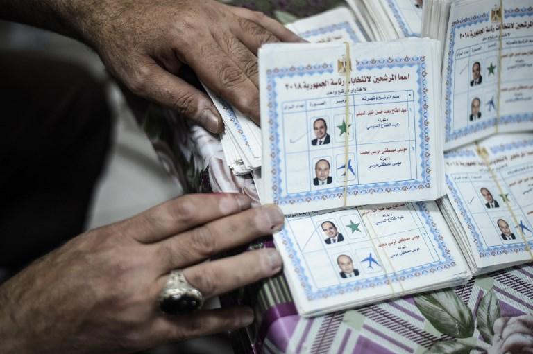 Egypte: Sissi réélu président sans surprise