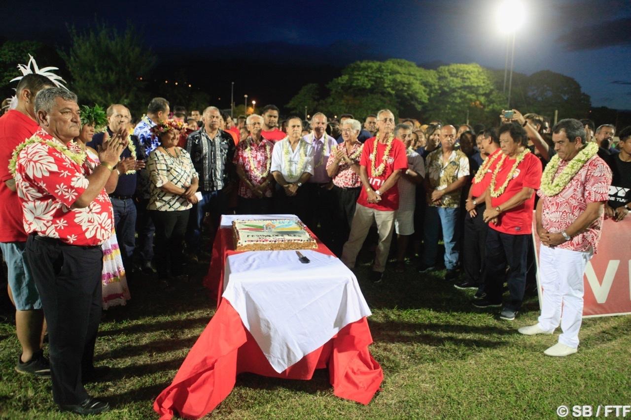 Les officiels ont fêté le 10e anniversaire du Festival des îles
