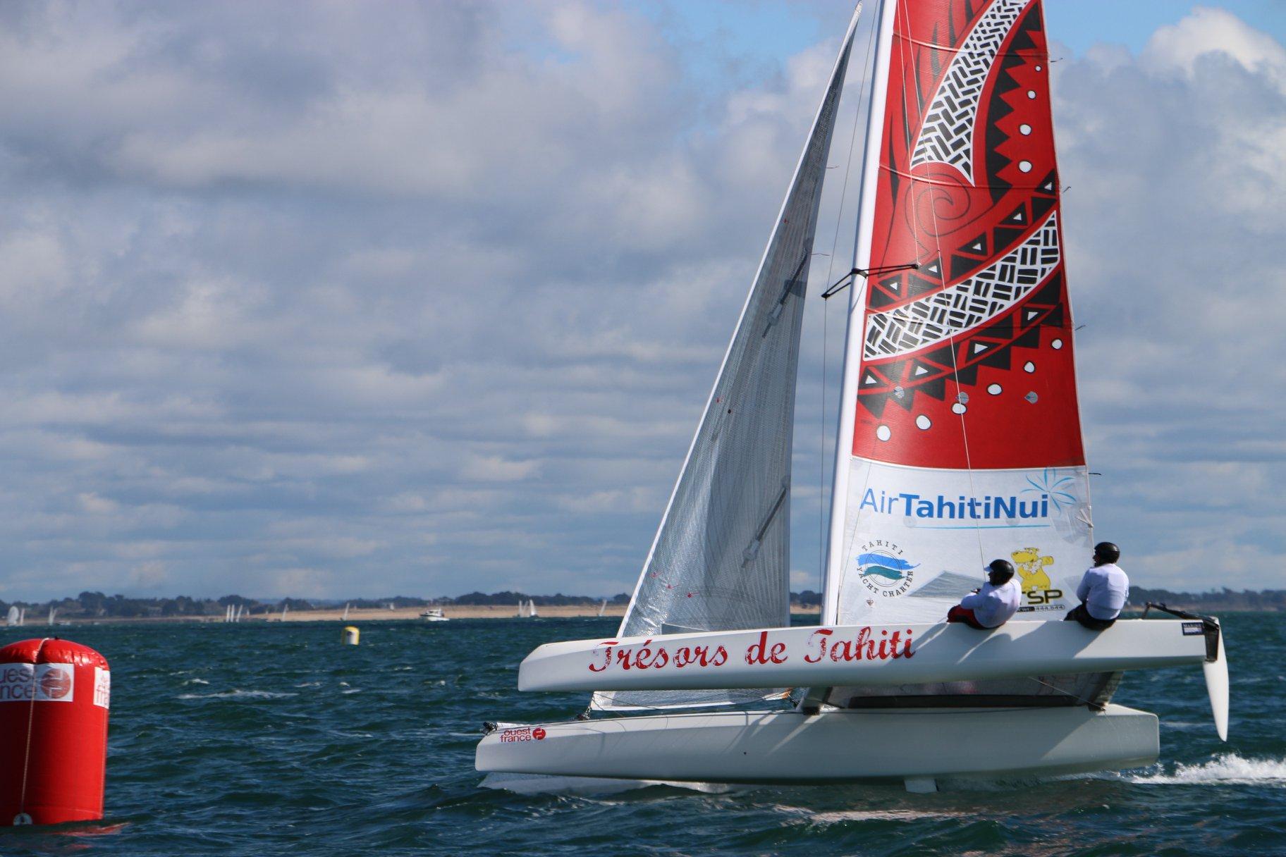 Belle 7e place au classement général pour Trésors de Tahiti