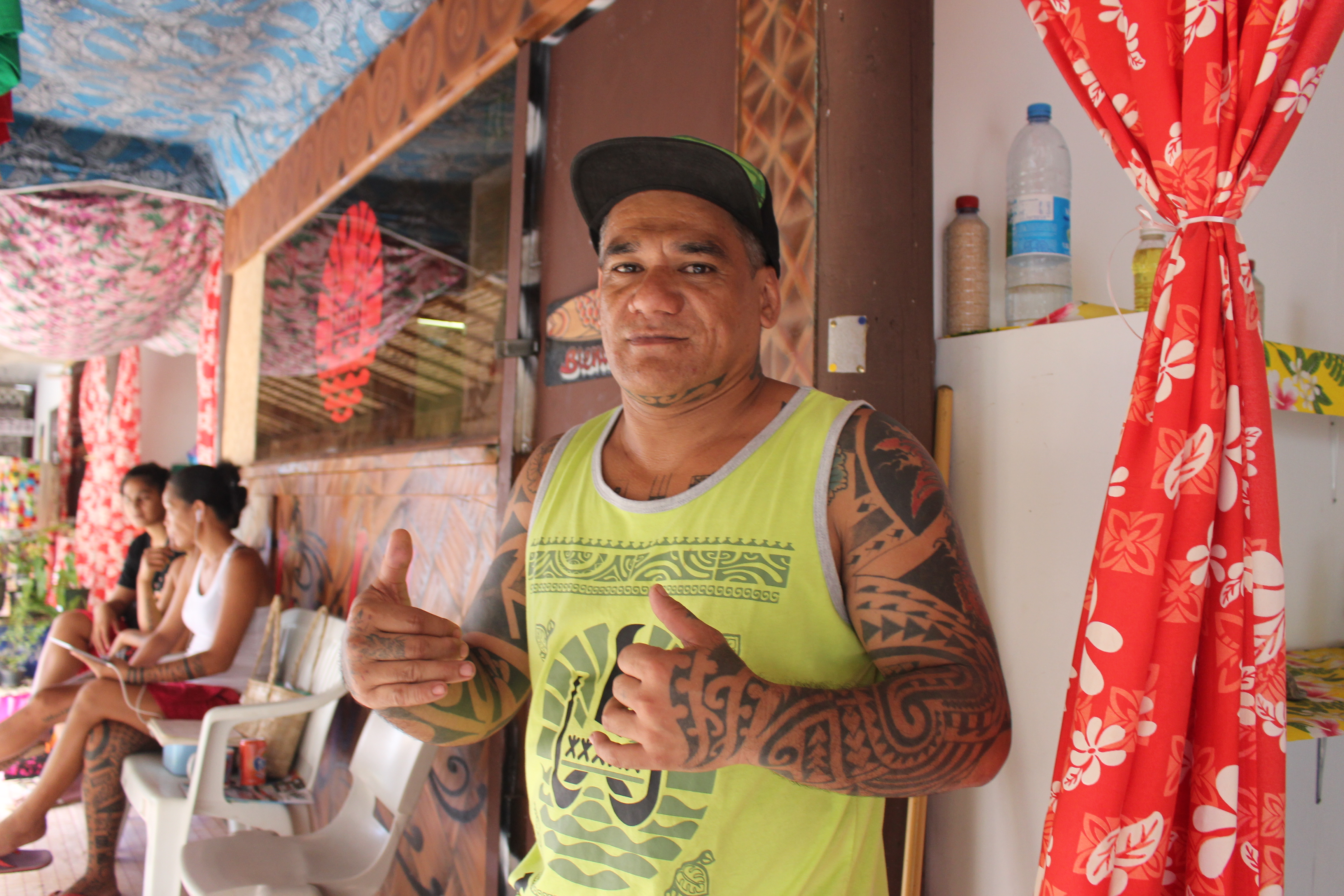 Une vingtaine de tatoueurs au salon Faa'a nui a tu te tatau