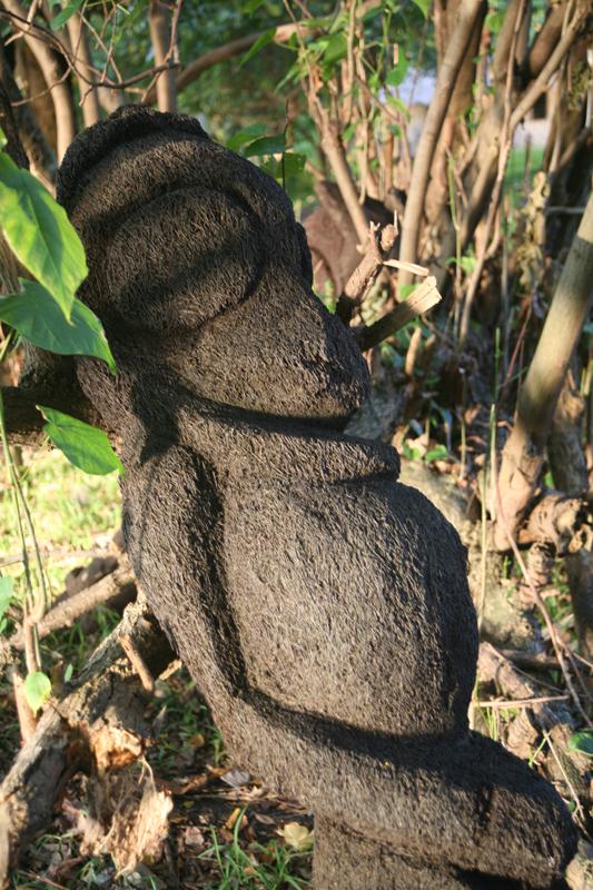 Gros ventre fantaisiste ou représentation d'une femme enceinte ? Nous n'avons pas eu de réponse, mais les fougères sont sexuées.