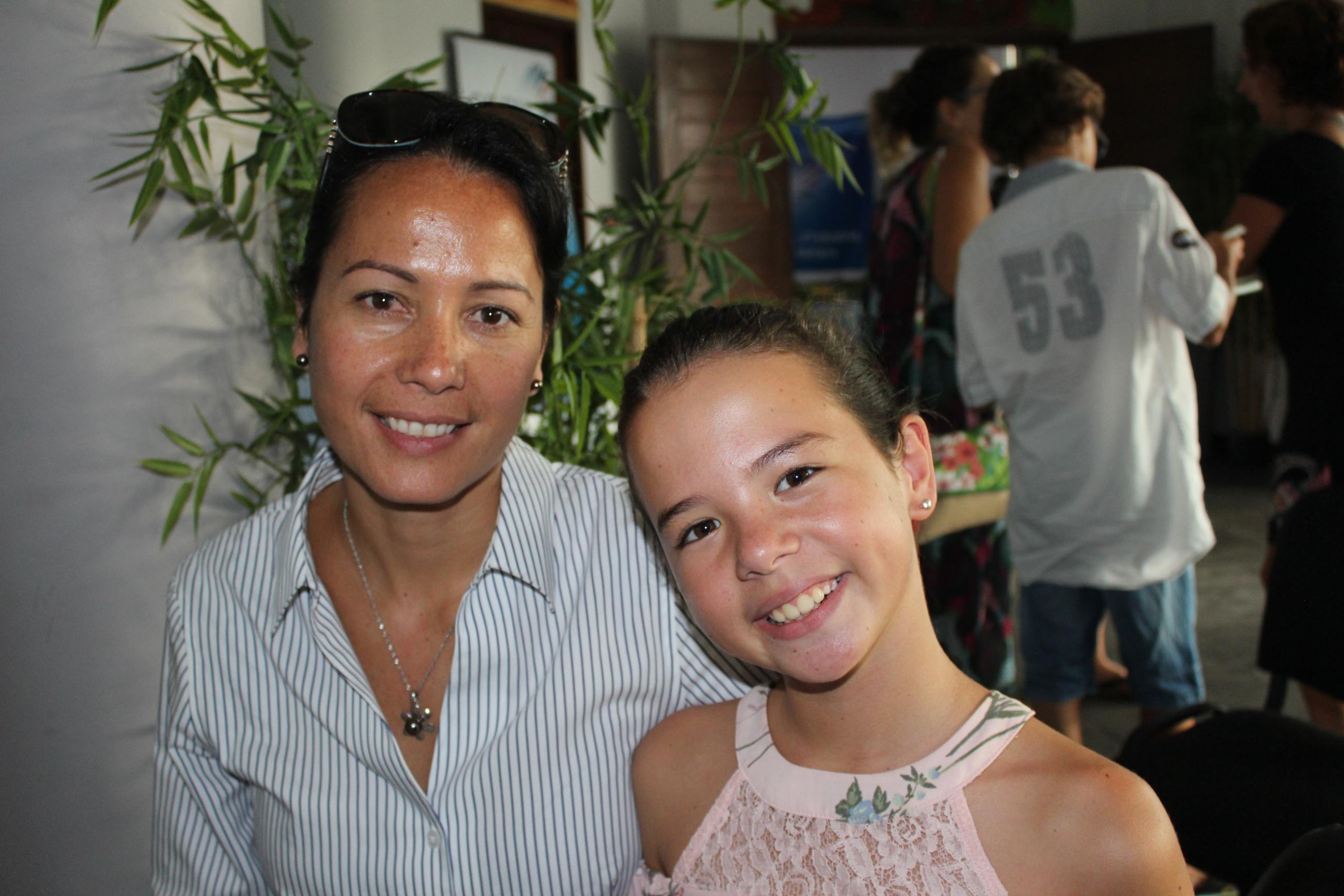 Kiara a motivé toute sa famille pour participer à l'opération Zéro déchet.