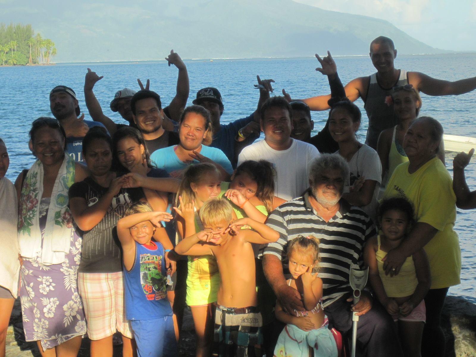 Le collectif des pêcheurs de Mataiea est à l'origine de cette marche pacifique qui se fera à partir du site de Tehoro jusqu'à la plage d'Atimaono.
