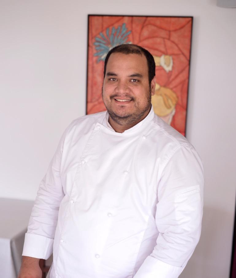Fabrice Métais, chef et co-gérant du restaurant l'Auberg'In et de Tahiti Gourmandises.