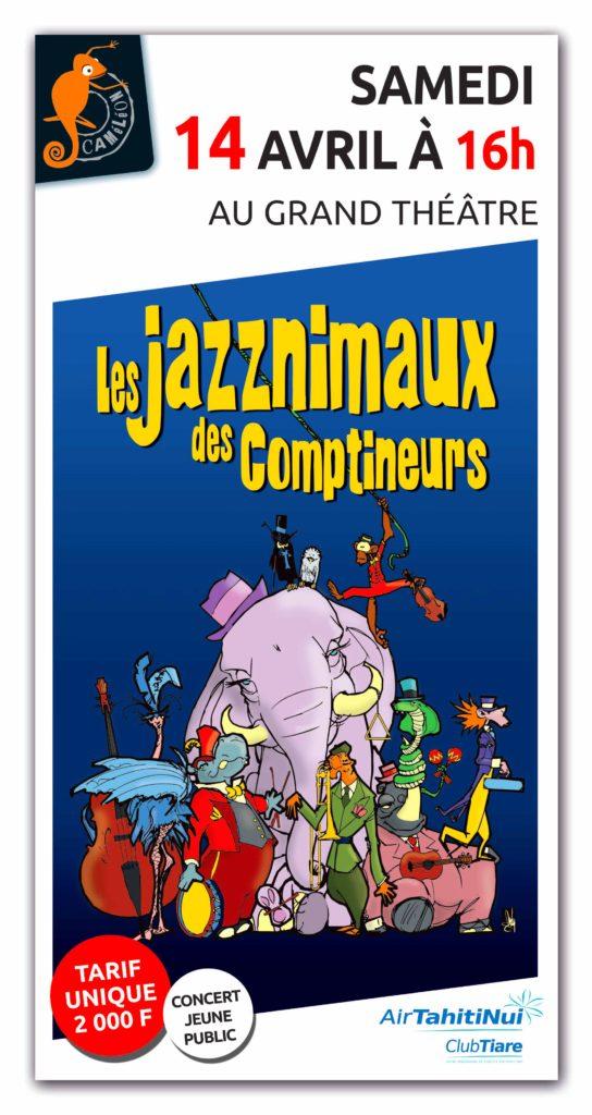 Les jazznimaux des comptineurs vont swinguer au Grand Théâtre