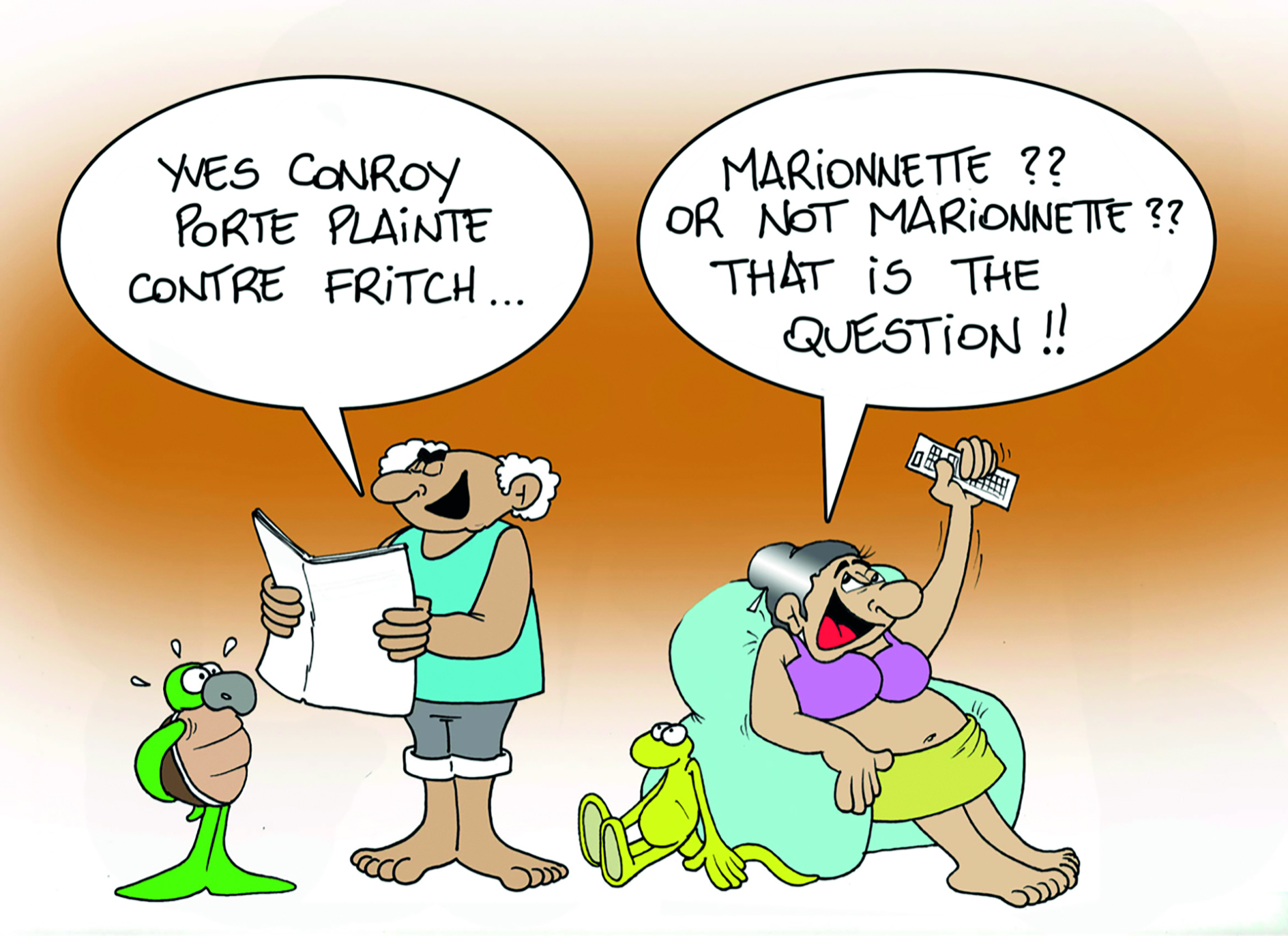""" Conroy vs Fritch "" par Munoz"
