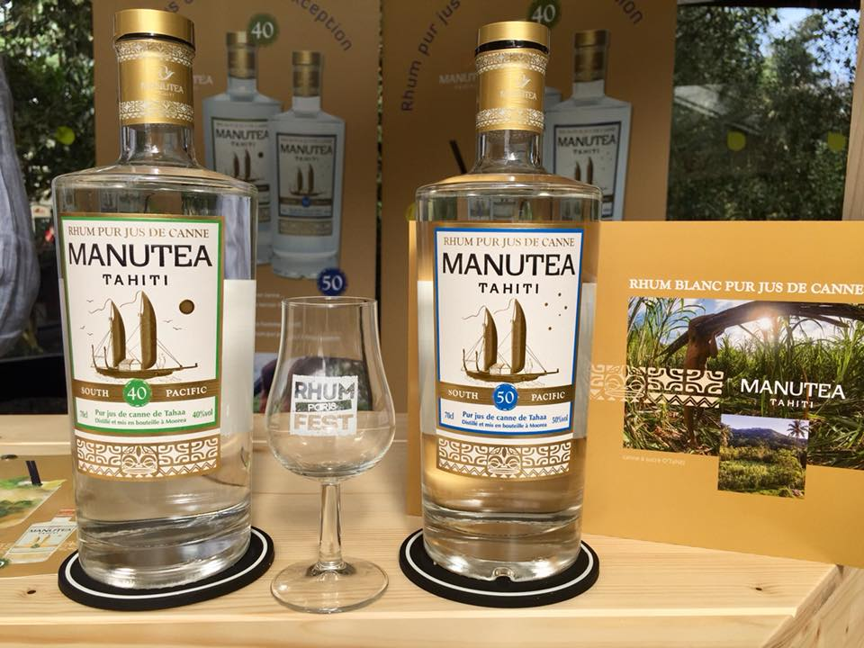 La distillerie de Moorea a été récompensée pour le rhum blanc agricole Manutea 50°.