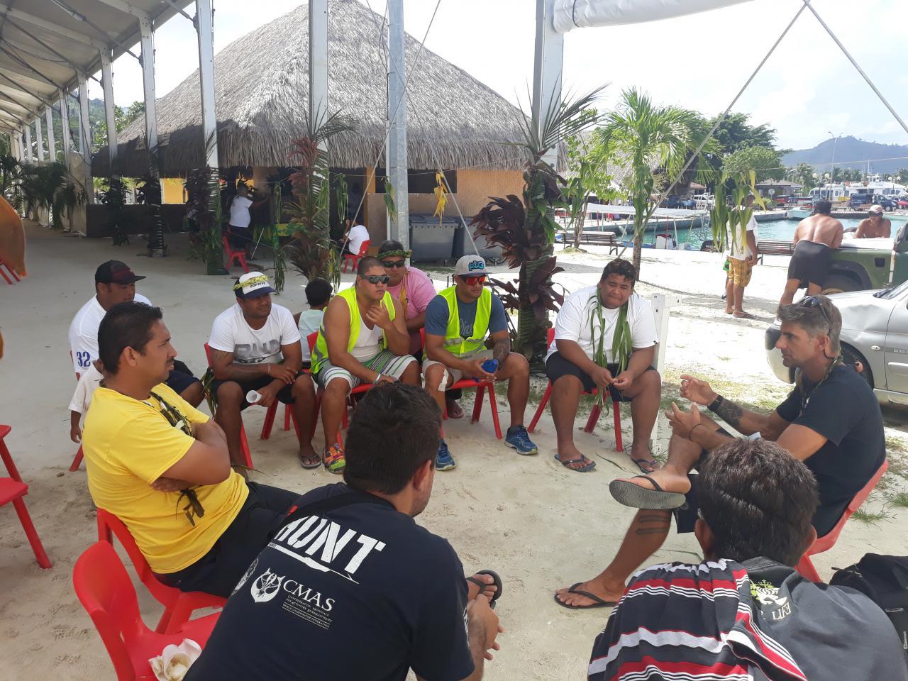 Du 10 mars au 5 avril, une campagne de sensibilisation a été menée à Bora Bora sur les accidents liés à la chasse sous-marine.
