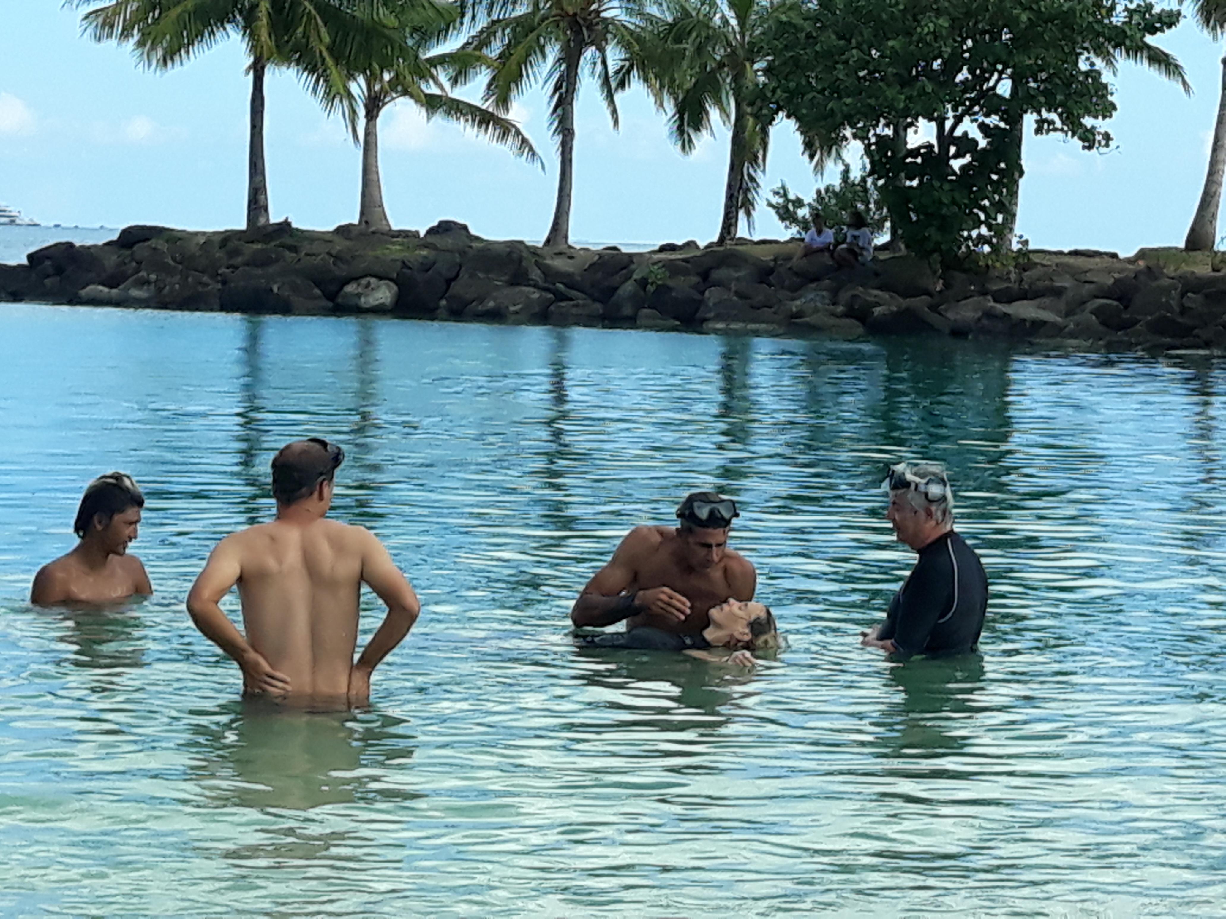 Une campagne qui a été destinée à tous les habitants de Bora Bora.