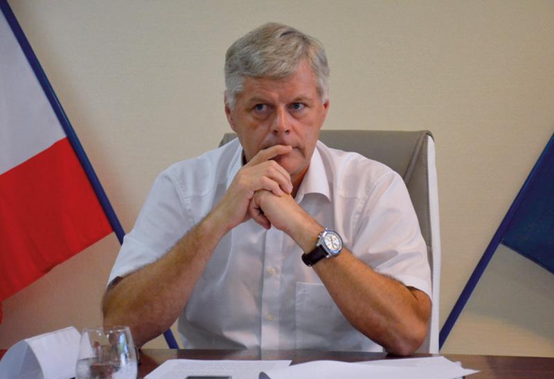 Jacques Mérot, président de l'Autorité polynésienne de la concurrence